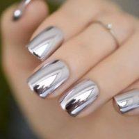 Manicure Acabado Efecto Espejo